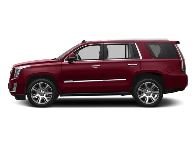 Red Passion Tintcoat 2017 Cadillac Escalade Pictures Escalade Utility 4D Premium Luxury 2WD V8 photos side view