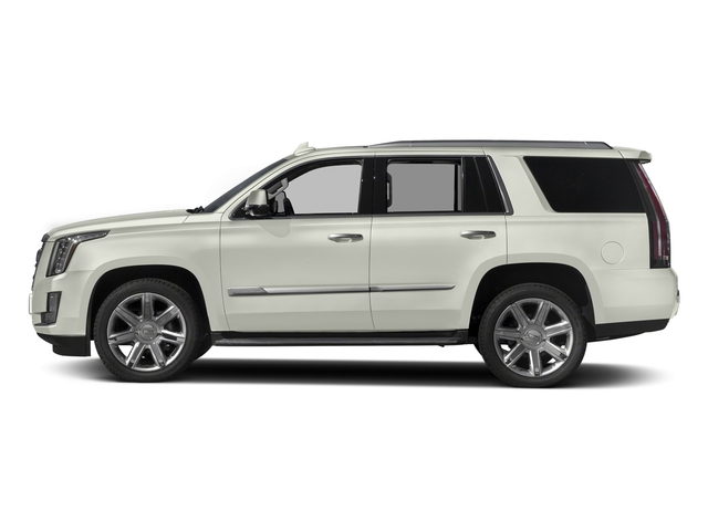 Crystal White Tricoat 2017 Cadillac Escalade Pictures Escalade Utility 4D Luxury 2WD V8 photos side view