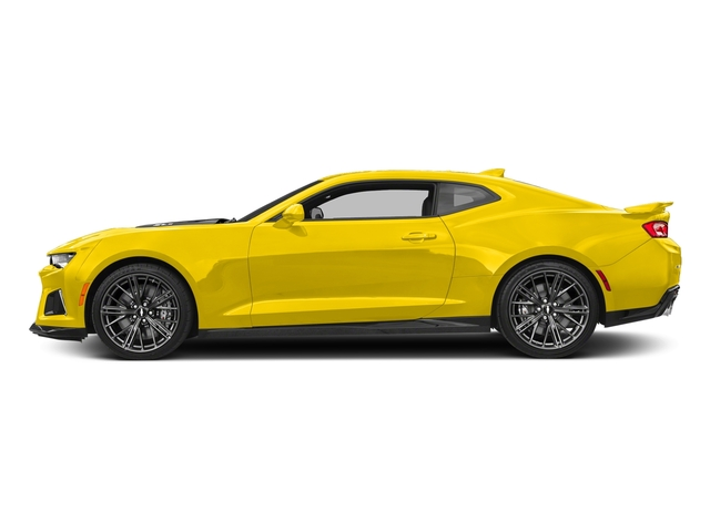 Bright Yellow 2017 Chevrolet Camaro Pictures Camaro 2dr Cpe ZL1 photos side view