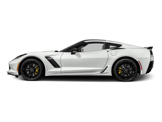 Arctic White 2017 Chevrolet Corvette Pictures Corvette 2dr Z06 Cpe w/1LZ photos side view