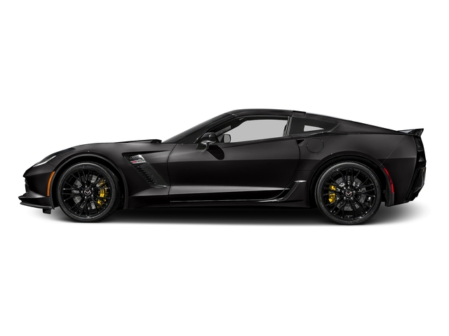 Black 2017 Chevrolet Corvette Pictures Corvette 2dr Z06 Cpe w/1LZ photos side view