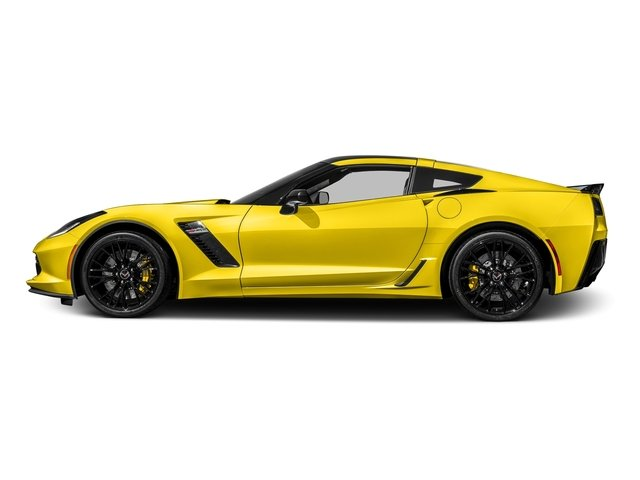 Corvette Racing Yellow Tintcoat 2017 Chevrolet Corvette Pictures Corvette 2dr Z06 Cpe w/1LZ photos side view