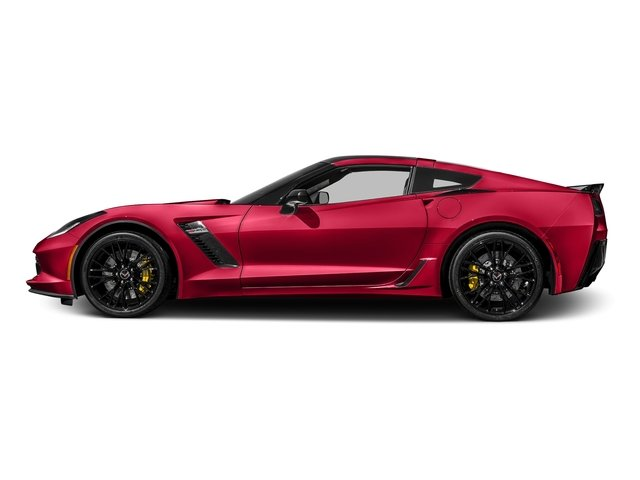 Torch Red 2017 Chevrolet Corvette Pictures Corvette 2dr Z06 Cpe w/1LZ photos side view