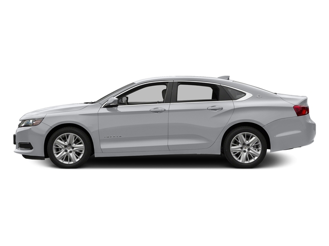 Silver Ice Metallic 2017 Chevrolet Impala Pictures Impala 4dr Sdn LS w/1FL photos side view