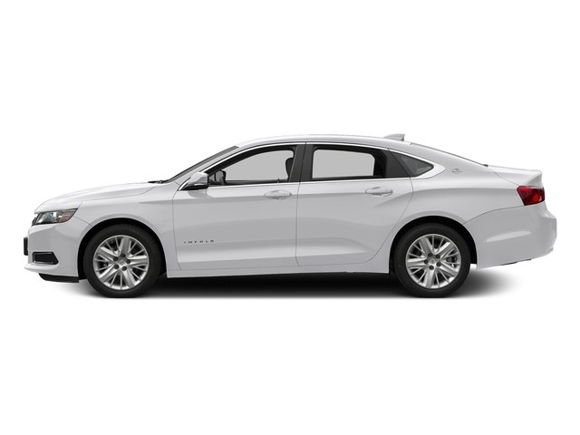 Summit White 2017 Chevrolet Impala Pictures Impala 4dr Sdn LS w/1FL photos side view