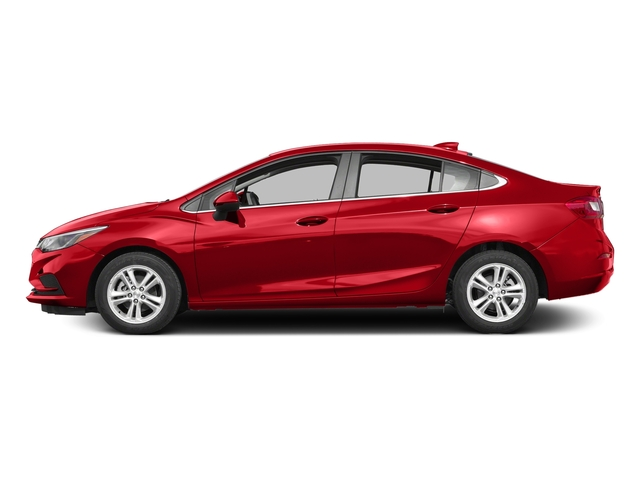Red Hot 2017 Chevrolet Cruze Pictures Cruze 4dr Sdn 1.6L LT w/1SH photos side view