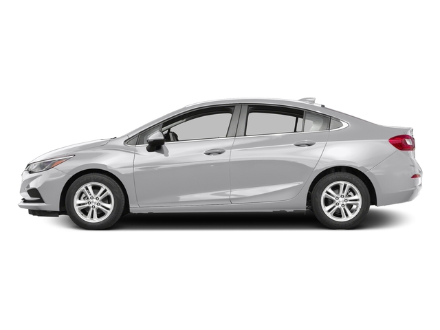 Silver Ice Metallic 2017 Chevrolet Cruze Pictures Cruze 4dr Sdn 1.6L LT w/1SH photos side view