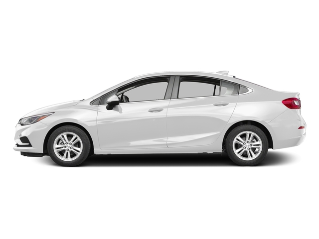 Summit White 2017 Chevrolet Cruze Pictures Cruze 4dr Sdn 1.6L LT w/1SH photos side view