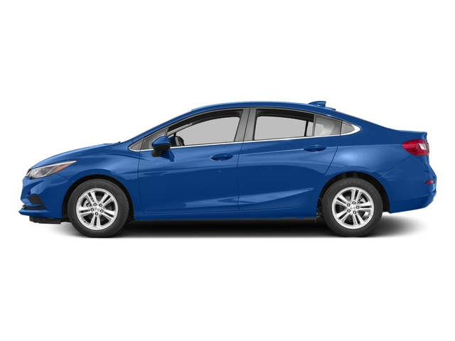 Kinetic Blue Metallic 2017 Chevrolet Cruze Pictures Cruze 4dr Sdn 1.6L LT w/1SH photos side view