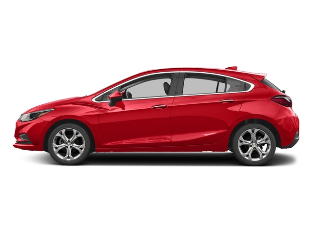 Red Hot 2017 Chevrolet Cruze Pictures Cruze 4dr HB 1.4L Premier w/1SF photos side view
