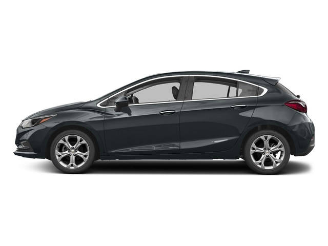 Nightfall Gray Metallic 2017 Chevrolet Cruze Pictures Cruze 4dr HB 1.4L Premier w/1SF photos side view