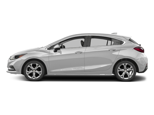 Silver Ice Metallic 2017 Chevrolet Cruze Pictures Cruze 4dr HB 1.4L Premier w/1SF photos side view