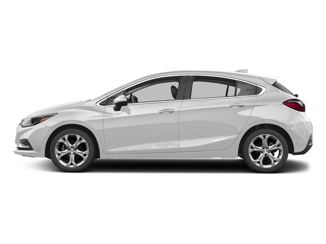 Summit White 2017 Chevrolet Cruze Pictures Cruze 4dr HB 1.4L Premier w/1SF photos side view