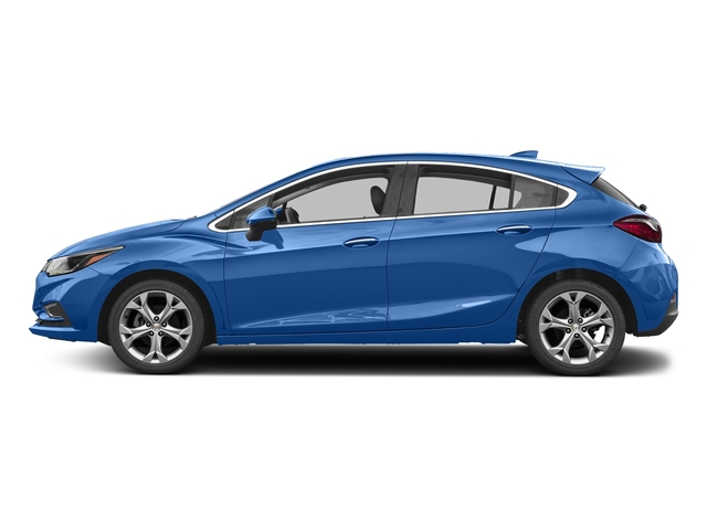 Kinetic Blue Metallic 2017 Chevrolet Cruze Pictures Cruze 4dr HB 1.4L Premier w/1SF photos side view