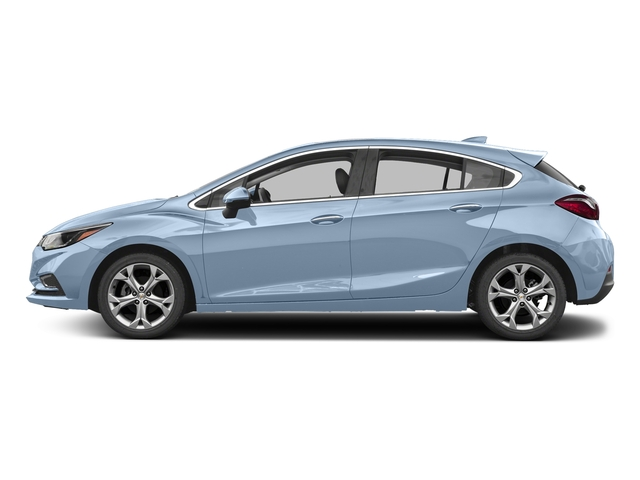 Arctic Blue Metallic 2017 Chevrolet Cruze Pictures Cruze 4dr HB 1.4L Premier w/1SF photos side view