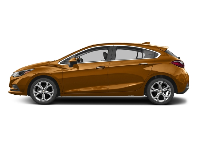Orange Burst Metallic 2017 Chevrolet Cruze Pictures Cruze 4dr HB 1.4L Premier w/1SF photos side view