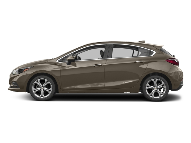 Pepperdust Metallic 2017 Chevrolet Cruze Pictures Cruze 4dr HB 1.4L Premier w/1SF photos side view