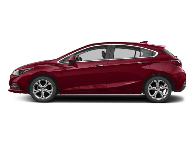 Cajun Red Tintcoat 2017 Chevrolet Cruze Pictures Cruze 4dr HB 1.4L Premier w/1SF photos side view