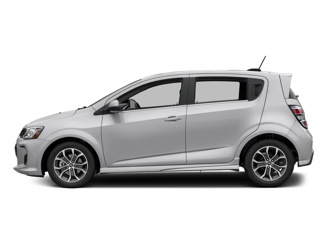 Silver Ice Metallic 2017 Chevrolet Sonic Pictures Sonic 5dr HB Auto LT w/1SD photos side view
