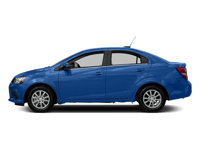 Kinetic Blue Metallic 2017 Chevrolet Sonic Pictures Sonic 4dr Sdn Auto Premier photos side view