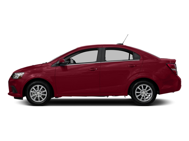 Cajun Red Tintcoat 2017 Chevrolet Sonic Pictures Sonic 4dr Sdn Auto Premier photos side view