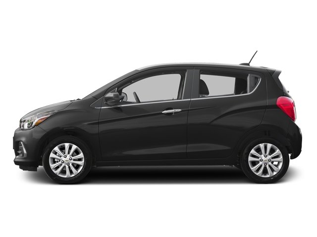 Nightfall Gray 2017 Chevrolet Spark Pictures Spark 5dr HB CVT LT w/2LT photos side view