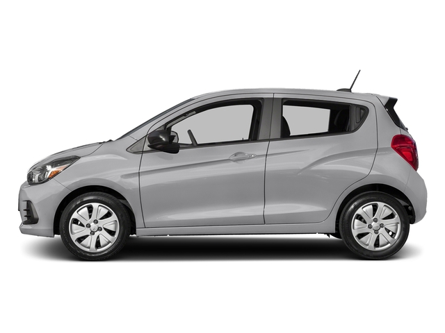 Silver Ice 2017 Chevrolet Spark Pictures Spark 5dr HB Man LS photos side view