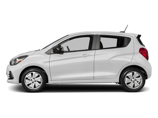 Summit White 2017 Chevrolet Spark Pictures Spark 5dr HB Man LS photos side view