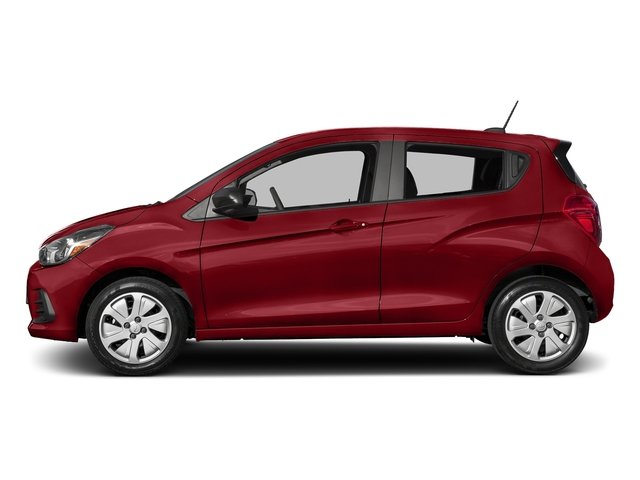 Red Hot 2017 Chevrolet Spark Pictures Spark 5dr HB Man LS photos side view
