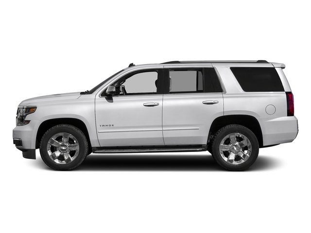 Summit White 2017 Chevrolet Tahoe Pictures Tahoe 4WD 4dr Premier photos side view