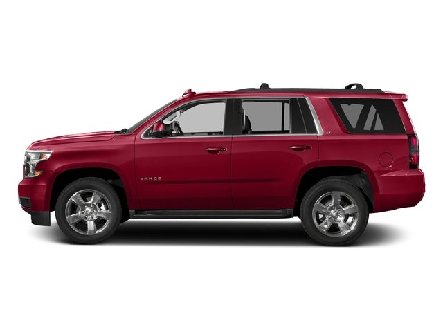 Siren Red Tintcoat 2017 Chevrolet Tahoe Pictures Tahoe 2WD 4dr LS photos side view
