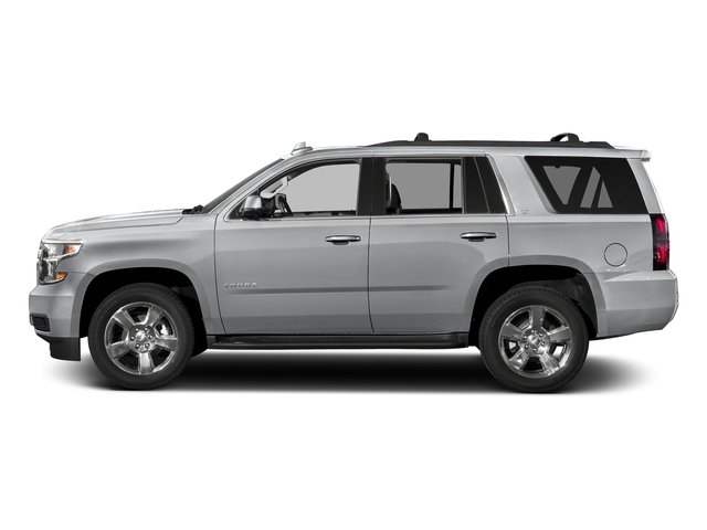 Silver Ice Metallic 2017 Chevrolet Tahoe Pictures Tahoe 2WD 4dr LS photos side view