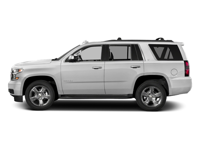Summit White 2017 Chevrolet Tahoe Pictures Tahoe 2WD 4dr LS photos side view