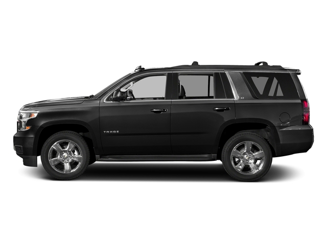 Black 2017 Chevrolet Tahoe Pictures Tahoe 2WD 4dr LS photos side view