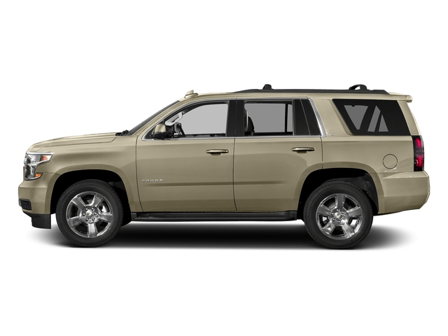 Champagne Silver Metallic 2017 Chevrolet Tahoe Pictures Tahoe 2WD 4dr LS photos side view