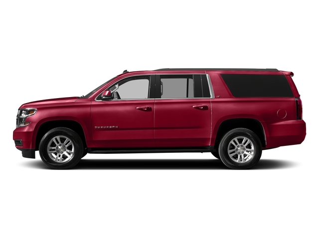Siren Red Tintcoat 2017 Chevrolet Suburban Pictures Suburban 2WD 4dr 1500 LT photos side view