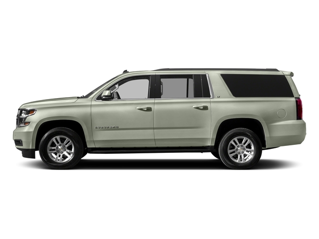 Iridescent Pearl Tricoat 2017 Chevrolet Suburban Pictures Suburban 2WD 4dr 1500 LT photos side view