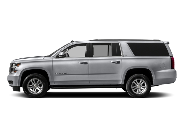Silver Ice Metallic 2017 Chevrolet Suburban Pictures Suburban 2WD 4dr 1500 LT photos side view