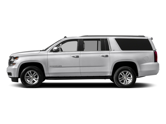 Summit White 2017 Chevrolet Suburban Pictures Suburban 2WD 4dr 1500 LT photos side view