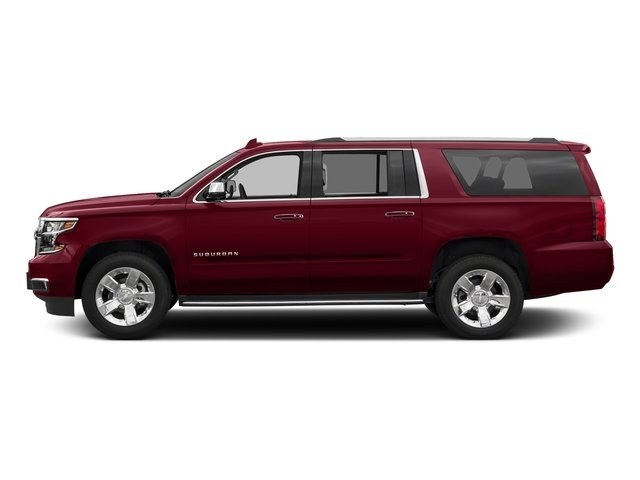 Siren Red Tintcoat 2017 Chevrolet Suburban Pictures Suburban 2WD 4dr 1500 Premier photos side view