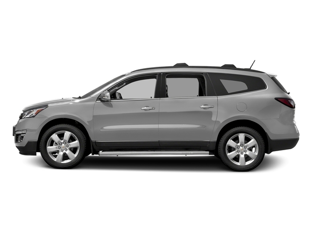 Silver Ice Metallic 2017 Chevrolet Traverse Pictures Traverse AWD 4dr LT w/1LT photos side view