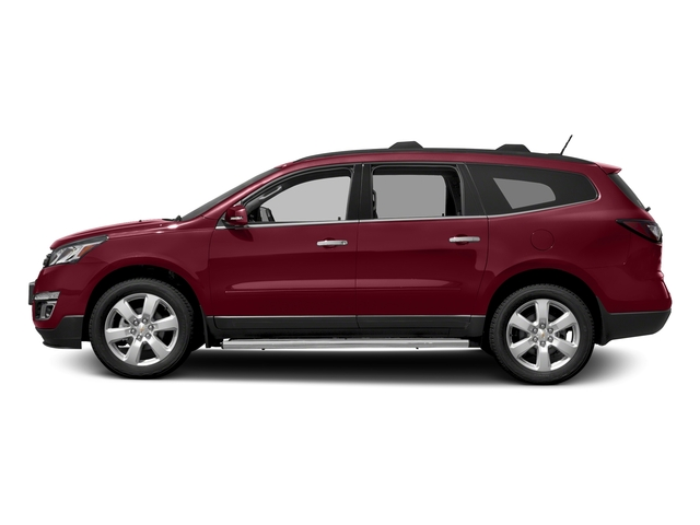 Siren Red Tintcoat 2017 Chevrolet Traverse Pictures Traverse AWD 4dr LT w/1LT photos side view