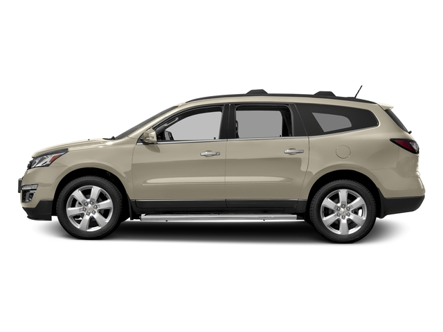 Champagne Silver Metallic 2017 Chevrolet Traverse Pictures Traverse AWD 4dr LT w/1LT photos side view
