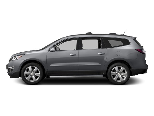 Silver Ice Metallic 2017 Chevrolet Traverse Pictures Traverse AWD 4dr Premier photos side view
