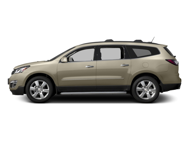 Champagne Silver Metallic 2017 Chevrolet Traverse Pictures Traverse AWD 4dr Premier photos side view