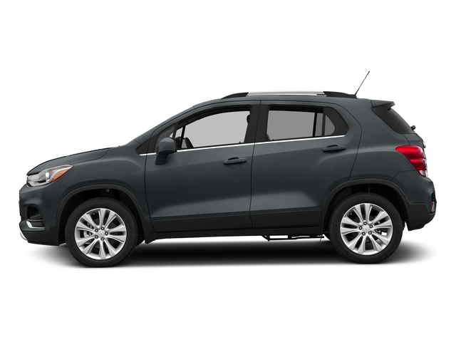 Nightfall Gray Metallic 2017 Chevrolet Trax Pictures Trax AWD 4dr Premier photos side view