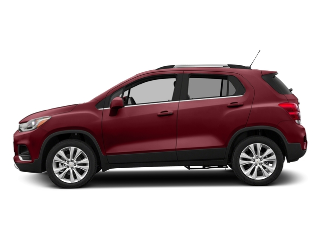 Crimson Metallic 2017 Chevrolet Trax Pictures Trax AWD 4dr Premier photos side view