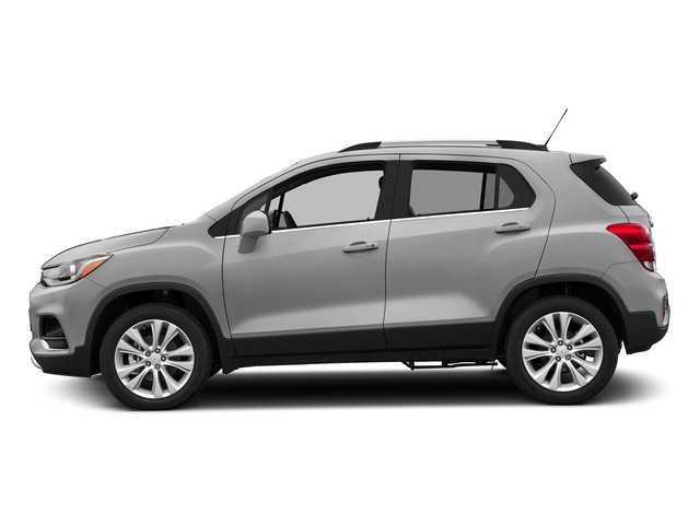Silver Ice Metallic 2017 Chevrolet Trax Pictures Trax AWD 4dr Premier photos side view