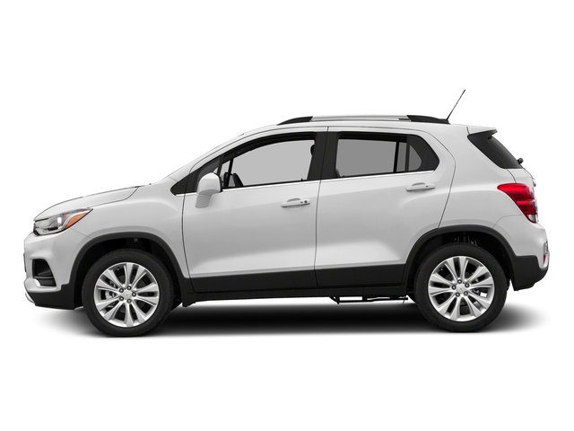 Summit White 2017 Chevrolet Trax Pictures Trax AWD 4dr Premier photos side view
