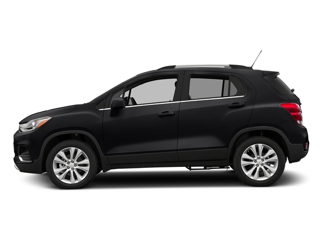 Mosaic Black Metallic 2017 Chevrolet Trax Pictures Trax AWD 4dr Premier photos side view